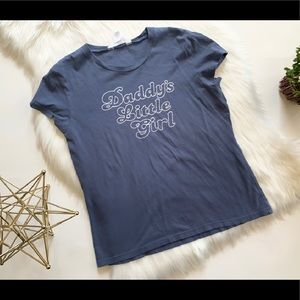 Womens Aeropostale Daddy's Little Girl T Shirt XL